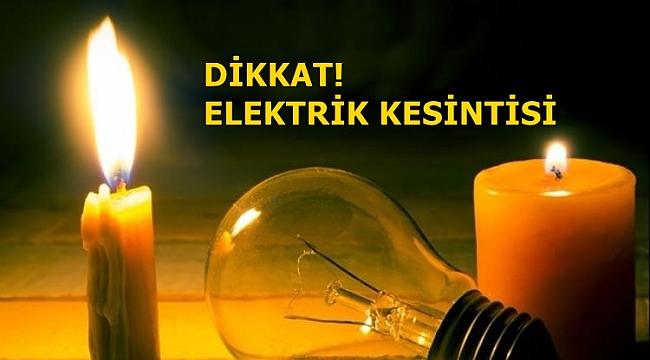 Giresun'da elektrik kesintisi