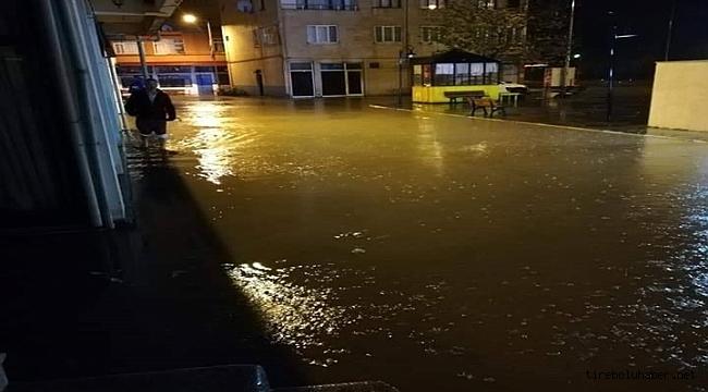Giresun'da Sağanak yağış hayatı olumsuz etkiledi