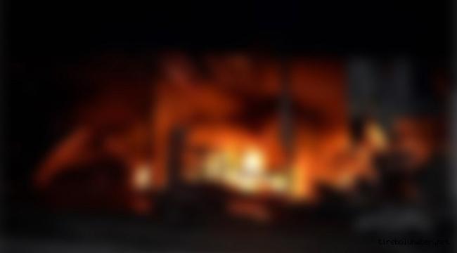 Giresun'da iş yeri yangını