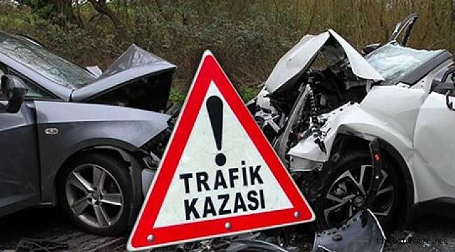 Giresun'da meydana gelen trafik kazalarında 8 yaralı