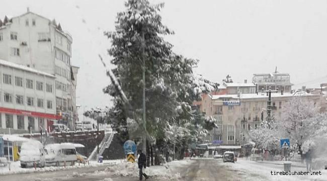 Tirebolu'da Eğitime kar engeli