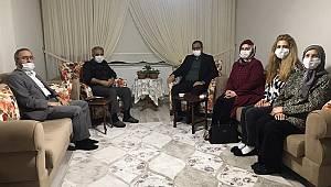 Giresun Valisi Şehit ve Gazi ailelerini ziyaret etti