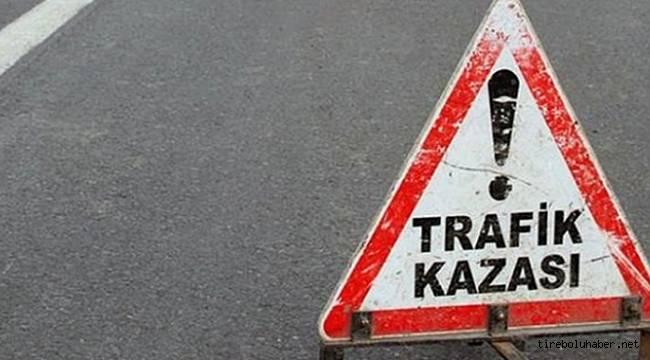 Motosiklet devrildi 1 kişi hayatını kaybetti