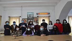 Bodrum'un çağdaş gençlerinden gazetecilere teşekkür