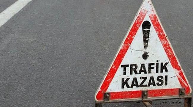 Alucra'da trafik kazası 1 ölü, 2 yaralı